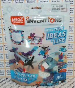 Mega Construx Inventions SPACE Stellar Brick Building Set FWP26 - 201 Pieces