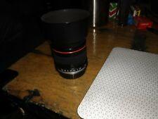 85mm f1.8 Lens, Canon EF mount, Full Frame.