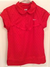 WOMEN'S NIKE FITDRY SLEEVELESS SHIRT RN #56323 RED SIZE SMALL