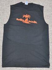 Salty Souls Palm and Surfboard Sleeveless Muscle Shirt Salt Beach Fishing Life