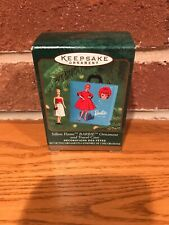 Vintage Hallmark Silken Flame Barbie Keepsake Christmas Ornaments