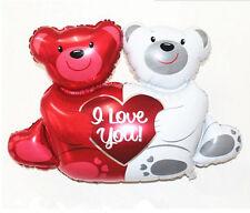 Valentine's Day - Love You Teddy Bears Happium 28'' (71cm) Foil Balloon