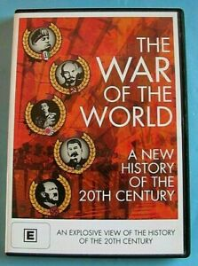THE WAR OF THE WORLD A New History of The 20th Century DVD Region 4 see below