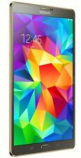 "Samsung Galaxy Tab S SM-T705W 16GB, (Unlocked) Wi-Fi + 4G , 8.4"" - Bronze - 4YTB"