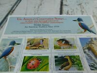 1995 National Wildlife Federation Stamp Sheet
