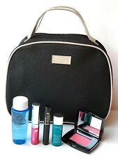 Lancome 6pc Gift Set Lot Serum Blush Lipstick Mascara Makeup Remover Bag New
