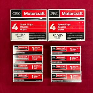 Set of 8: Motorcraft OEM Ford Copper Spark Plugs SP-420A BSF42CA FREE FEDEX 2DAY