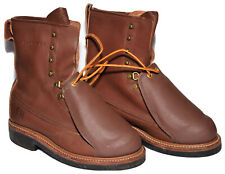 IRON AGE BOOTS HANDMADE 7 D TALL WORK BOOTS EH STEEL TOE