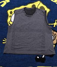 Lululemon mens metal vent tech sleeveless tank top shirt gray size medium M?