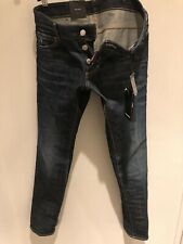 DSQUARED2 Men's Slim Jeans S74LA0671 Size 28