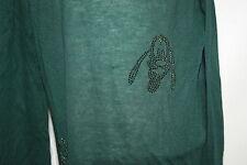 goldiges Shirt / Tunika 💝 Monnalisa mit Straßsteinen Pluto grün 💝 140