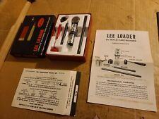 Lee Loader Complete 32-20 Winchester 32-20 Wcf Die Set Reload Reloading Dies
