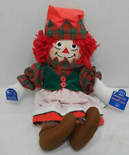 """NEW MWT 15"""" Raggedy Ann Elf Christmas Holiday An by Applause Hasbro 2002"""