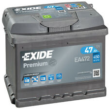 EA472 4 Year Warranty Exide Battery 47AH 450CCA W063TE Type 063