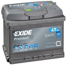 EA472 4 Year Warranty Exide Battery 47AH 450CCA W063TE Type 063