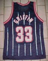 Eddie Griffin #33 Houston Rockets NBA 1996-2002 Champion Blue Red White Jersey M