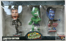 NECA MARVEL MINI Hulk Wolverine Nightcrawler HEADKNOCKER BOBBLEHEAD 2003