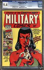 Military Comics #14  CGC 9.4  NM  Universal CGC #0040415007