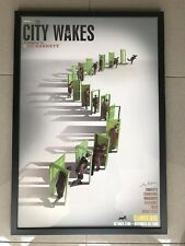 'The City Wakes' Syd Barrett Storm Thorgerson Pink Floyd .Signed