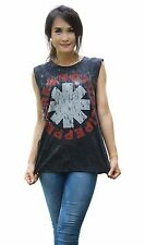 Red Hot Chili Peppers shirt RHCP Rock Band Tank Top Vest Singlet Black T Shirt