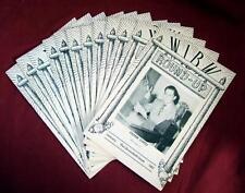 WIBW Radio ROUND-UP Promo Magazine Topeka Kansas 12-issues Full-Year 1951