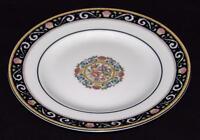 """Wedgwood Bone China, England, RUNNYMEDE, Dark Blue - 8"""" Salad Plate"""