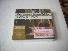 MOBY - THE VERY BEST OF SPECIAL EDITION  2cd+dvd japan digipack