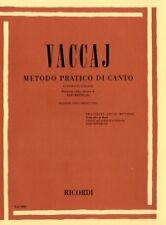 VACCAI PRACTICAL METHOD Low Contralto or Bass + CD