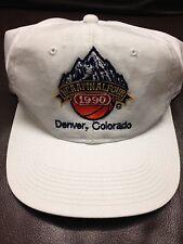 #F1 Vintage Hat Cap Snap Strap Back 1990 NCAA Final Four Denver  Colorado .