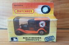 Matchbox MLB 1989 BALTIMORE ORIOLES (A+/C) New, Old Stock