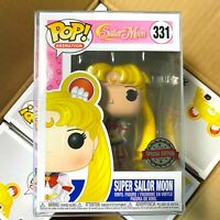 "Funko Pop Sailor Moon : Super Sailor Moon #331 Vinyl Special Edition ""MINT"""