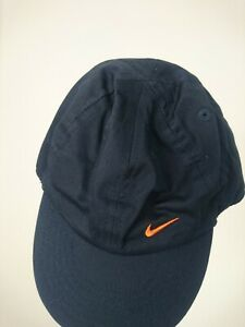 Nike INFANT Unisex Navy and Orange Cap -----Dead Stock-----