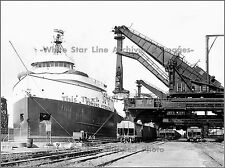 Photo: The Edmund Fitzgerald Unloading Ore, 1967