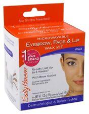 SALLY HANSEN MICROWAVEABLE WAX KIT FOR EYEBROW/FACE/LIP
