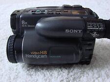 """Sony CCD-TR707E Camcorder Video 8 und Hi8 """"wie neu"""""""