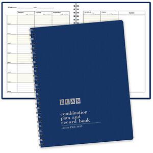 Combination Plan and Record Book - 8 Period Teacher Lesson Planner (PR8-1035 )