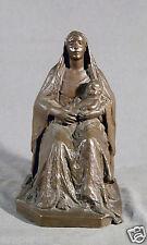 Bronze Sculpture Mother and Child - Bessie Potter Vonnoh (AMERICAN, 1872-1955)