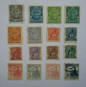 Honduras 1890's stamps