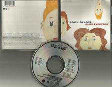 BOOK OF LOVE Alice Everyday / With Little Love 6TRX REMIXES USA CD single 1990