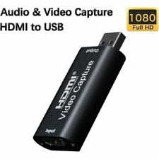 Video Capture Card Adapter HDMI USB 2.0 HD 1080P Live Streaming Recorder Grabber