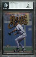 1997 finest #15 DEREK JETER new york yankees BGS 9