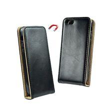 * Samsung Galaxy A5 2017 Echt Leder Flip Case Handy Tasche Hülle Schutzhülle