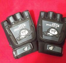 Extreme Rage Paintball Half Finger Armored Gloves Small