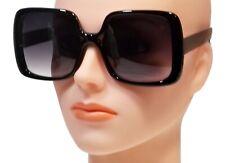 NWT Women Oversized Sunglasses Vintage Jackie O Fashion Style Square Frame