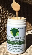 Bone Broth Concentrate Gelatin (Not Powder)-Collagen Protein-Cert. grass-fed