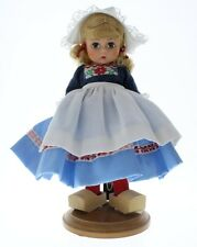 """Madame Alexander 8"""" Doll & Outfit Netherlands with wood shoes"""