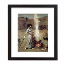 Classic Art Print: John Waterhouse  'The Witch' MAGIC CIRCLE Wiccan Spell Potion