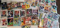 HUGE Football Card Lot: Various Years/Makes Montana/Sanders/Rice/Aikman++ 90's