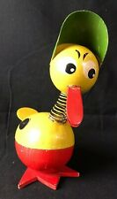 Large Antique German Easter Egg Duck Paper Mache Candy Container ~ Ygf