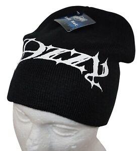OZZY OSBOURNE ROCK STAR - KNIT BEANIE BLACK CAP HAT NEW 2010